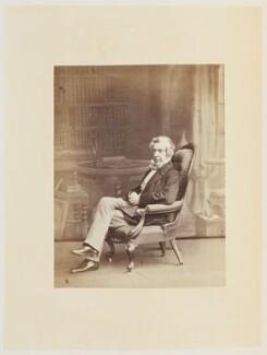 Samuel Warren, by Ernest Edwards, published by  Lovell Reeve & Co - NPG Ax13907