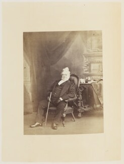 Hugh Cuming, by Ernest Edwards, published by  Lovell Reeve & Co - NPG Ax13908