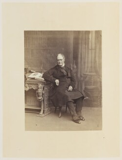(Newell) Connop Thirlwall, by Ernest Edwards, published by  Lovell Reeve & Co, published 1864 - NPG Ax13910 - © National Portrait Gallery, London