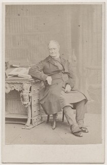 (Newell) Connop Thirlwall, by Ernest Edwards, circa 1864 - NPG Ax7467 - © National Portrait Gallery, London
