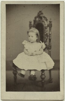 Elinor Rendel (née Strachey), by William Edward Kilburn, May 1861 - NPG x13865 - © National Portrait Gallery, London