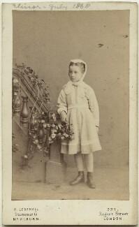 Elinor Rendel (née Strachey), by Henry Lenthall - NPG x13877