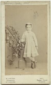 Elinor Rendel (née Strachey), by Henry Lenthall, July 1868 - NPG x13878 - © National Portrait Gallery, London