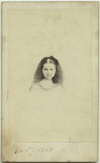 Elinor Rendel (née Strachey), by Henry Lenthall, November 1865 - NPG x13870 - © National Portrait Gallery, London