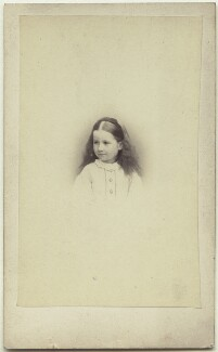 Elinor Rendel (née Strachey), by Henry Lenthall, November 1865 - NPG x13871 - © National Portrait Gallery, London