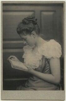 Elinor Rendel (née Strachey), by Frederick Hollyer, circa 1880 - NPG x26143 - © National Portrait Gallery, London