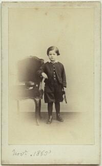Richard John Strachey, by Henry Lenthall, November 1865 - NPG x13896 - © National Portrait Gallery, London