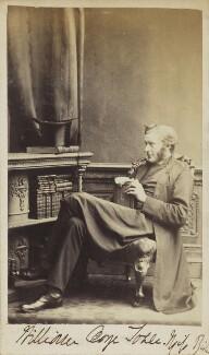 William George Tozer, by Charles Thomas Newcombe - NPG Ax9812