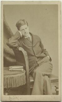 Richard John Strachey, by Alexander Bassano - NPG x38556
