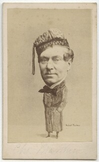 Charles James Mathews as Dazzel in 'London Assurance', by and after (George) Herbert Watkins, (1858) - NPG x21244 - © National Portrait Gallery, London