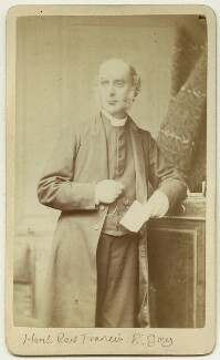 Hon. Francis Richard Grey, by Alexander Bassano - NPG x45717