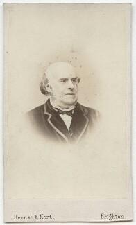 Henry William Greville, by Hennah & Kent - NPG x12154