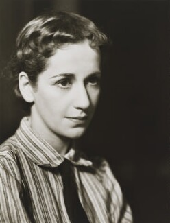 Dame Peggy Ashcroft, by Gordon Anthony - NPG x38421