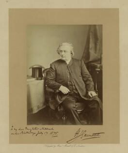 Henry John Gauntlett, by Maull & Co - NPG x16333