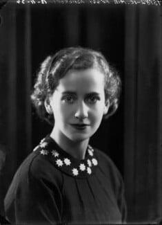 Dame Peggy Ashcroft, by Bassano Ltd, 12 November 1934 - NPG x22294 - © National Portrait Gallery, London