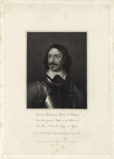 Robert Devereux, 3rd Earl of Essex, by Edward Scriven - NPG D25802