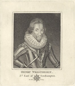 Henry Wriothesley, 3rd Earl of Southampton, after Unknown artist - NPG D25814
