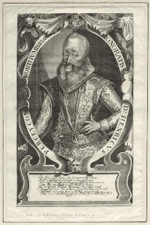 Henry Percy, 9th Earl of Northumberland, published by William Richardson, after  Francis Delaram - NPG D25815