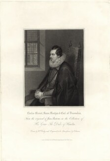Charles Blount, Earl of Devonshire, by Edward Scriven, and by  William Derby, published by  Harding & Lepard, after  Unknown artist - NPG D25821