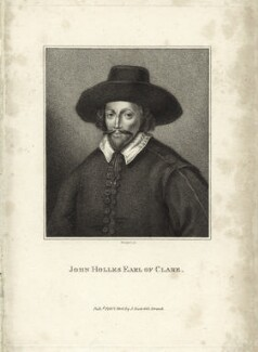 John Holles, 1st Earl of Clare, by E. Bocquet - NPG D25826