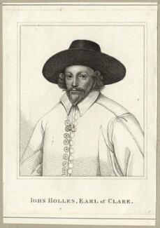John Holles, 1st Earl of Clare, after Unknown artist - NPG D25828