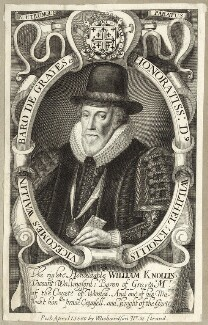 William Knollys, Earl of Banbury, published by William Richardson - NPG D25829