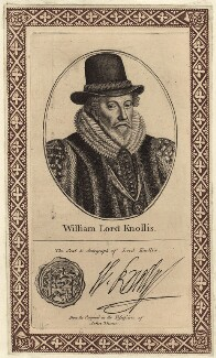 William Knollys, Earl of Banbury, printed and published by John Thane - NPG D25832