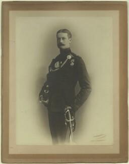 Richard John Strachey, by Benjamin Joseph Falk - NPG x129615