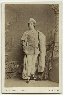 John Nelson as Romeo in 'Romeo & Juliet', by Southwell Brothers, 1864 - NPG  - © National Portrait Gallery, London