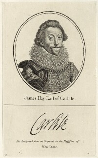 James Hay, 1st Earl of Carlisle, after Unknown artist - NPG D25845