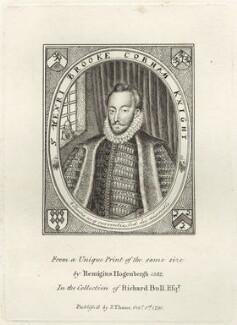 Sir Henry Brooke Cobham, published by John Thane - NPG D25847