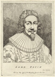Edward la Zouche, 11th Baron Zouche, possibly by P. or S. Paul (Samuel de Wilde?), published by  William Humphrey - NPG D25848