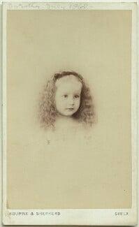 Dorothy Bussy (née Strachey), by Bourne & Shepherd, 1868 - NPG x13887 - © National Portrait Gallery, London