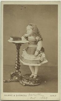 Dorothy Bussy (née Strachey), by Bourne & Shepherd - NPG x13889