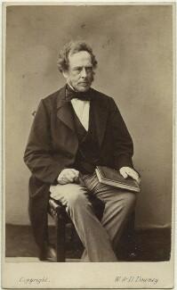 Charles Pelham Villiers, by W. & D. Downey, 1860s - NPG x13263 - © National Portrait Gallery, London