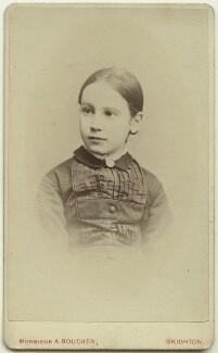 Dorothy Bussy (née Strachey), by Albert Adolphe Boucher, circa 1875 - NPG x13891 - © National Portrait Gallery, London