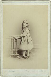 Dorothy Bussy (née Strachey), by (Cornelius) Jabez Hughes - NPG x13892