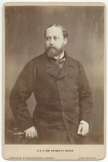 King Edward VII, by London Stereoscopic & Photographic Company - NPG x87008
