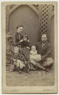 King Edward VII and his family, by W. & D. Downey - NPG x3611