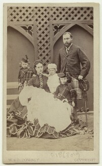 King Edward VII and his family, by W. & D. Downey - NPG x15160