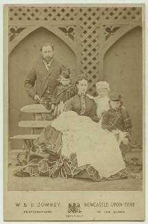 King Edward VII and his family, by W. & D. Downey - NPG x20133