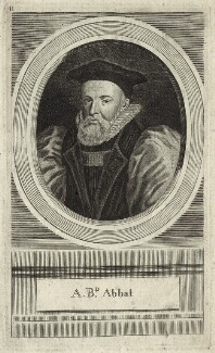 George Abbot, by Unknown artist - NPG D25866