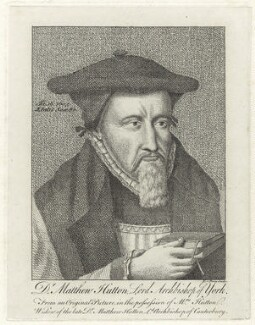Matthew Hutton, by Francis Perry - NPG D25867