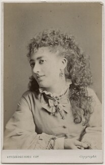 Victoria Rosaline Sarah Vokes, by London Stereoscopic & Photographic Company - NPG Ax28547