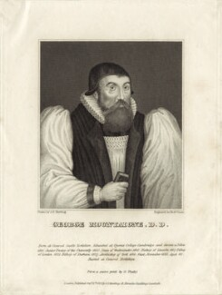 George Mountain (Montaigne), by Robert Graves, after  George Yate - NPG D25881