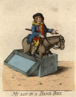 'My ass in a band box', by Robert Dighton - NPG D9059
