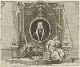 Lady Jane Grey, by George Vertue - NPG D32035