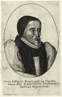 Lancelot Andrewes, by Wenceslaus Hollar, 1643 - NPG D25889 - © National Portrait Gallery, London