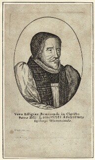 Lancelot Andrewes, by Wenceslaus Hollar, 1643 - NPG D25891 - © National Portrait Gallery, London