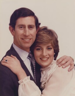 Prince Charles; Diana, Princess of Wales, by Lord Snowdon - NPG x35372